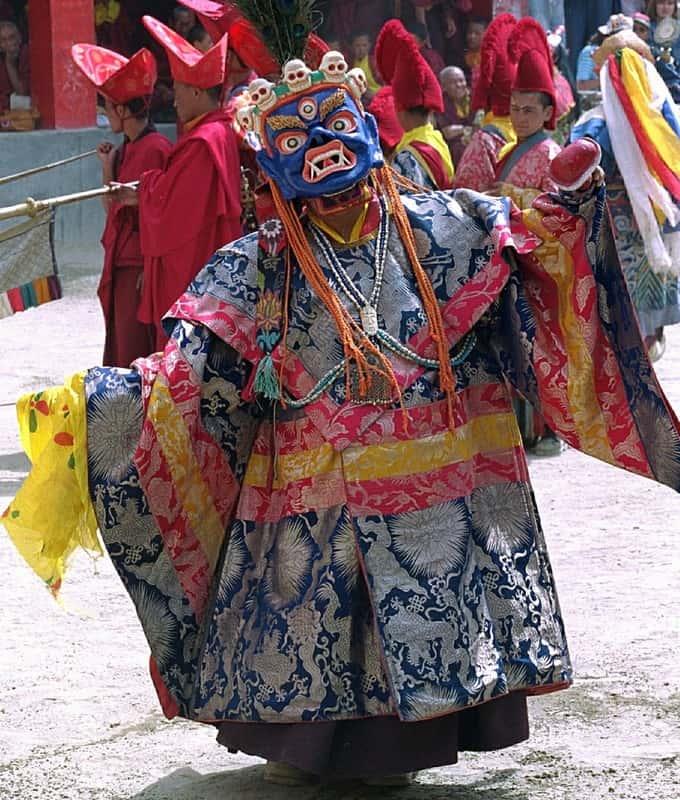 Mosteiros dos Himalaias e Festivais do Ladakh, India