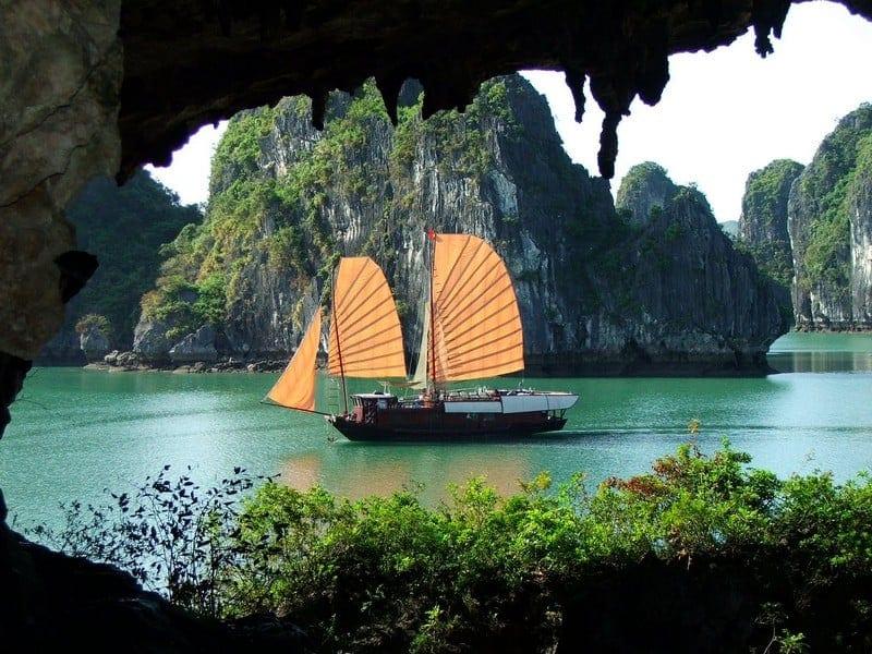 O Rio do Perfume, Vietnam