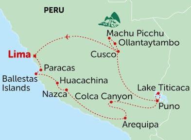 Peru: De Machu Pichu ao Lago Titicaca e a Arequipa