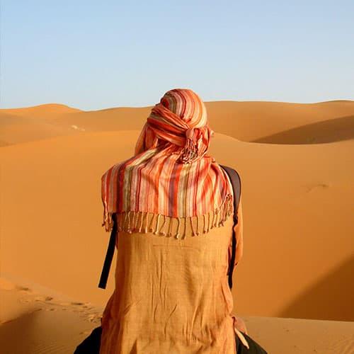 Marrocos: Caravana de Camelos
