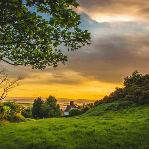 Irlanda: No Parque das Montanhas Wicklow