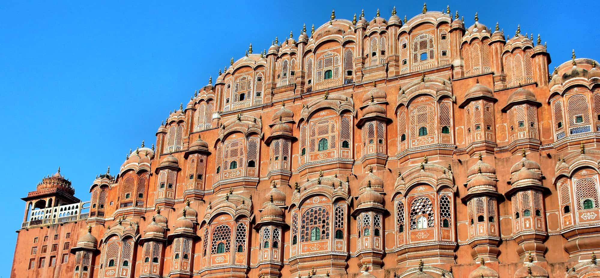 Palácio dos Ventos, Jaipur, India