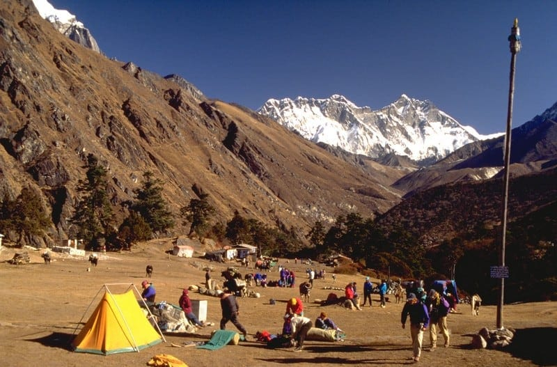 Vale de Khumbu e Campo Base do Everest