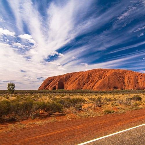 Travessia do Deserto Vermelho até ao Parque Kakadu