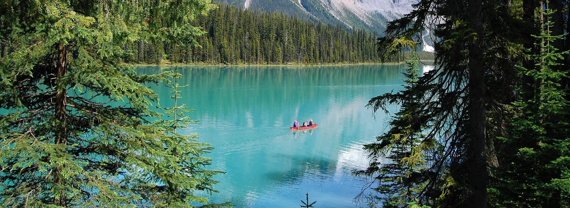 Canadá, Glaciares dos Parques Canadianos