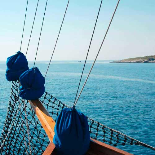Navegação das ilhas Kvarner ao Parque Nacional Kornati