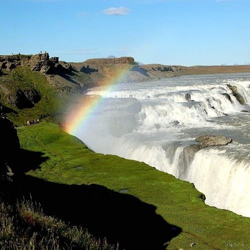 Islândia, Caminhadas Ligeiras entre Fiordes e Glaciares, Gullfoss