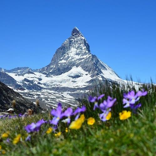 FRança, Suiça, Chamonix Zermatt